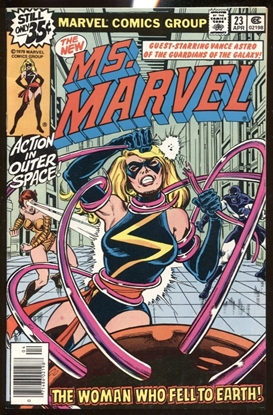 Picture of MS. MARVEL (1977) #23 9.0 VF/NM