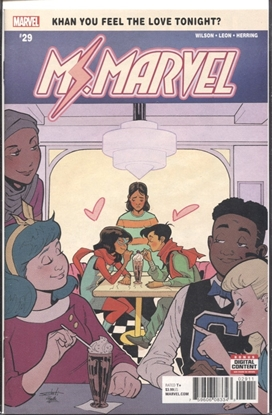 Picture of MS MARVEL #29 LEG