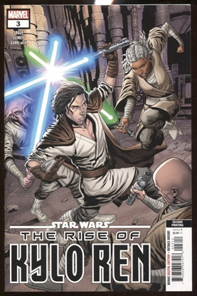 Picture of STAR WARS RISE KYLO REN #3 (OF 4) 2ND PRINT SLINEY VARIANT COVER