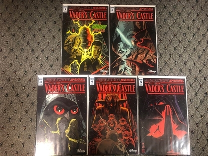 Picture of STAR WARS TALES FROM VADERS CASTLE #1 2 3 4 5 COVER A SET