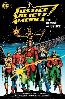 Picture of JUSTICE SOCIETY OF AMERICA THE DEMISE OF JUSTICE HC