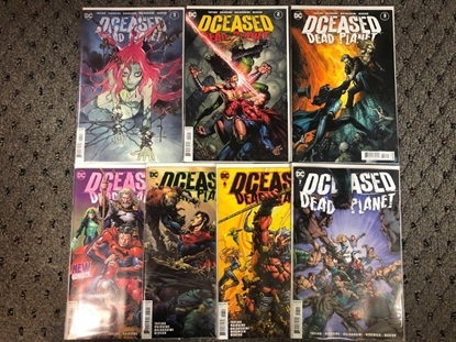 Picture of DCEASED DEAD PLANET #1 2 3 4 5 6 7 / COVER A 1ST PRINT SET NM