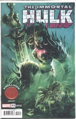 Picture of IMMORTAL HULK #42 LOZANO KNULLIFIED VARIANT COVER NM