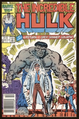 Picture of INCREDIBLE HULK (1968) #324 9.0 VF/NM NEWSSTAND EDITION