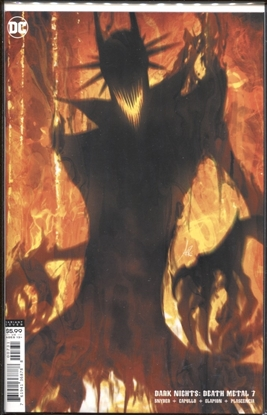 Picture of DARK NIGHTS DEATH METAL #7 (OF 7) CVR C STANLEY ARTGERM LAU BATMAN WHO LAUGHS VAR