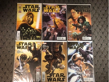 Picture of STAR WARS  2015 #7 8 9 10 11 12 1ST PRINT SET