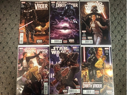 Picture of STAR WARS VADER DOWN 6-ISSUE SET 13 14 15