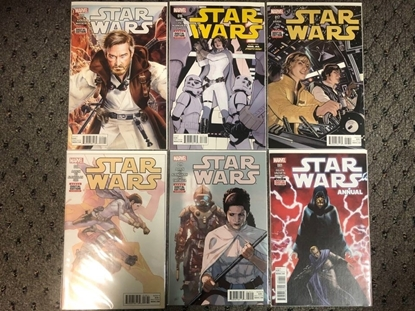 "Picture of STAR WARS (2015) #15 16 17 18 19 + ANNUAL #1 ""REBEL JAIL"""