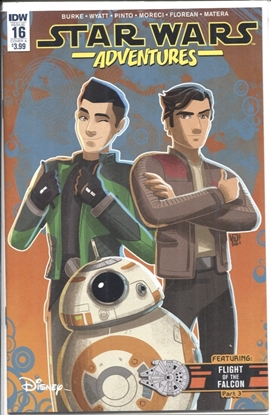 Picture of STAR WARS ADVENTURES #16 CVR A PINTO