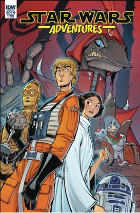 Picture of STAR WARS ADVENTURES ANNUAL 2018