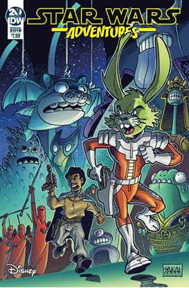 Picture of STAR WARS ADVENTURES ANNUAL 2019