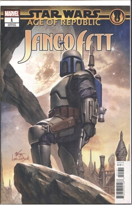 Picture of STAR WARS AOR JANGO FETT #1 INHYUK LEE VARIANT COVER