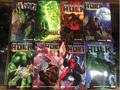 Picture of IMMORTAL HULK TPB SET VOL 1 2 3 4 5 6 7 8