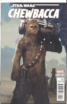 Picture of CHEWBACCA #1 (OF 5) OLIVETTI VARIANT COVER