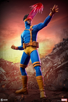 Picture of CYCLOPS (90S ERA X-MEN BLUE TEAM UNIFORM) 1:6 SCALE FIGURE HOT TOYS