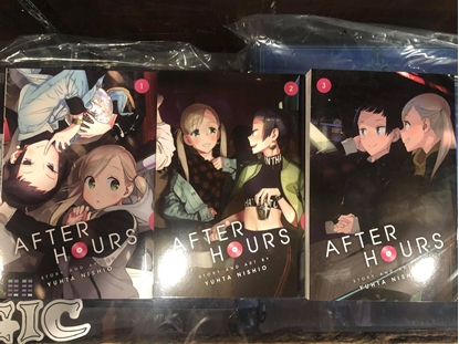 Picture of AFTER HOURS GN VOL 1 2 & 3 SET
