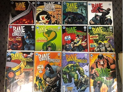 Picture of BANE CONQUEST #1-12 SET