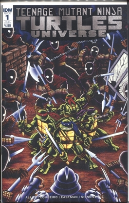 Picture of TMNT UNIVERSE #1 SUB COVER
