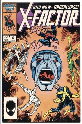 Picture of X-FACTOR (1986) #6 9.2 NM-