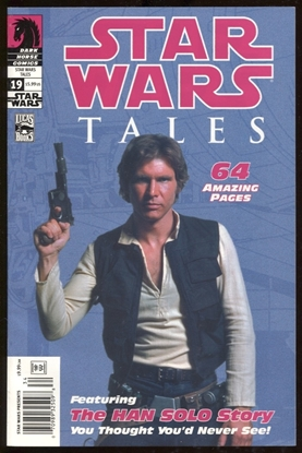 Picture of STAR WARS TALES #19 RARE HAN SOLO PHOTO VARIANT COVER VF+