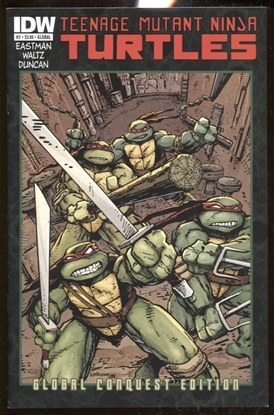 Picture of TEENAGE MUTANT NINJA TURTLES (2011) #2 GLOBAL CONQUEST EDITION NM-
