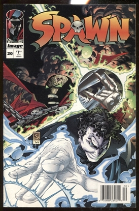 Picture of SPAWN #20 NEWSSTAND EDITION 8.0 VF