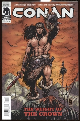 Picture of CONAN WEIGHT OF THE CROWN #1 ONE-SHOT NM DARK HORSE COMICS