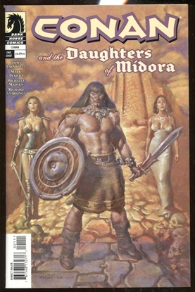Picture of CONAN AND THE DAUGHTERS OF MIDORA #1 ONE-SHOT NM DARK HORSE COMICS