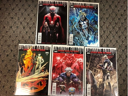 Picture of ULTIMATE FALLOUT #1 2 3 5 6 / NO #4 1ST MILES MORALES NM