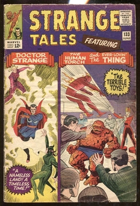 Picture of STRANGE TALES (1951) #133 3.5 VG-