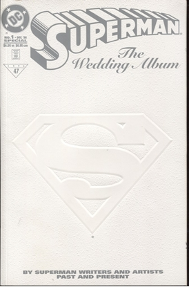 Picture of SUPERMAN THE WEDDING ALBUM (1996) #1 9.2 NM-