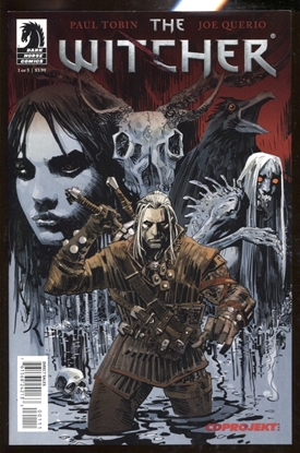Picture of THE WITCHER (2014) #1 / 9.4 NM CDPROJEKT DARK HORSE COMICS