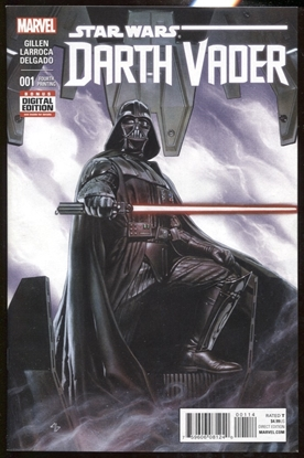 Picture of DARTH VADER (2015) #1 4TH PRINT 9.2 NM-
