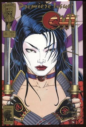 Picture of SHI #1 & LITHO SIGNED BY BILL TUCCI #373/2500 WITH COA NM
