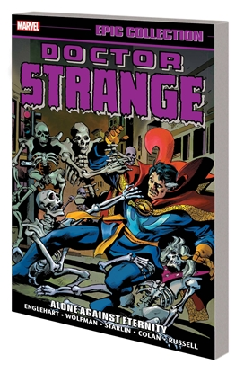 Picture of DOCTOR STRANGE EPIC COLLECTION TP ALONE AGAINST ETERNITY
