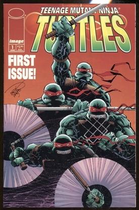 Picture of TEENAGE MUTANT NINJA TURTLES (1996) #1 IMAGE COMICS VF 1ST PRINT