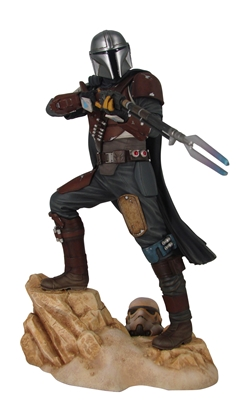 Picture of STAR WARS PREMIER COLLECTION THE MANDALORIAN MK1 STATUE