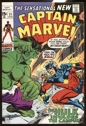 Picture of CAPTAIN MARVEL (1968) #21 6.0 FN