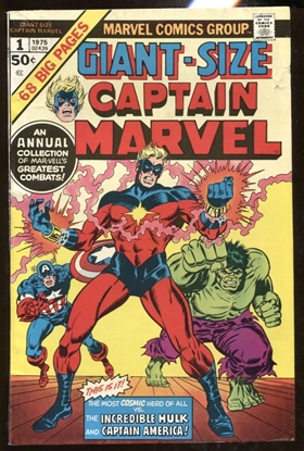 Picture of GIANT SIZE CAPTAIN MARVEL (1975) #1 6.0 FN