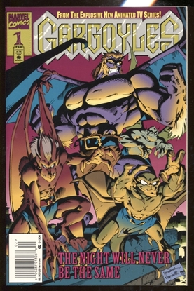 Picture of GARGOYLES (1995) #1 / 1ST APPEARANCE / NEWSSTAND EDITION NM-