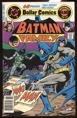 Picture of BATMAN FAMILY (1975) #20 / 4.0 VG ENTER THE RAGMAN STARLIN COVER