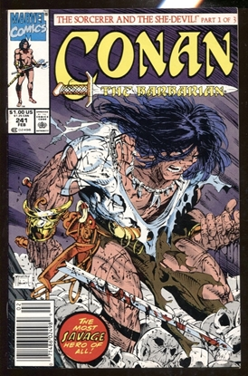 Picture of CONAN THE BARBARIAN #241 / TODD MCFARLANE COVER NEWSSTAND / 9.0 VF/NM