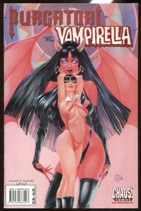Picture of PERGATORI VS VAMPIRELLA #1 APRIL 2000 / CHAOS COMICS VF