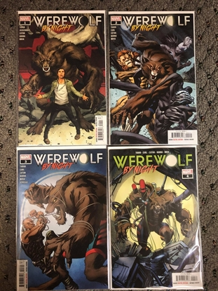 Picture of WEREWOLF BY NIGHT (2020) #1 2 3 4 / 1ST PRINT SET / TABOO-HANNA NM