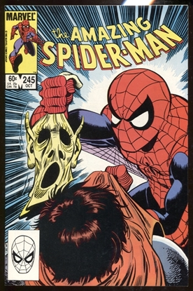 Picture of AMAZING SPIDER-MAN (1963) #245 / 4TH HOBGOBLIN / DIRECT EDITION 9.4 NM