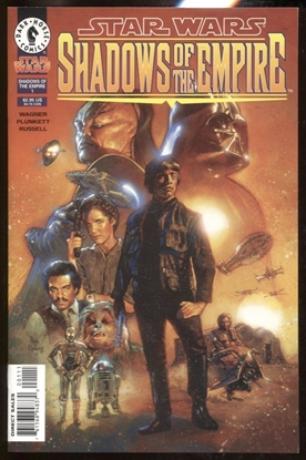 Picture of STAR WARS SHADOWS OF THE EMPIRE #1 / 1ST PRINT DARK HORSE COMICS NM
