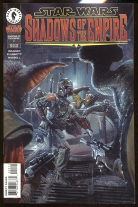Picture of STAR WARS SHADOWS OF THE EMPIRE #2 / 1ST PRINT DARK HORSE COMICS VF/NM BOBA FETT