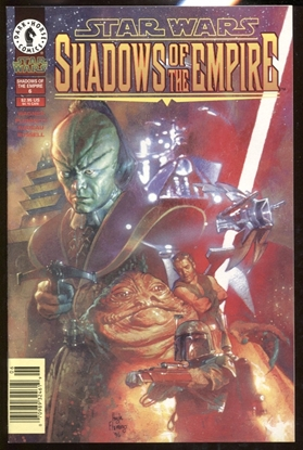 Picture of STAR WARS SHADOWS OF THE EMPIRE #6 / NEWSSTAND EDITION / DARK HORSE NM