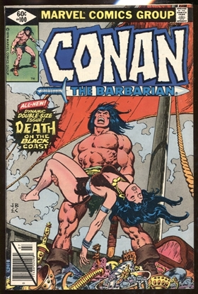 Picture of CONAN THE BARBARIAN (1970) #100 6.0 FN