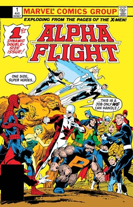 Picture of ALPHA FLIGHT #1 FACSIMILE EDITION